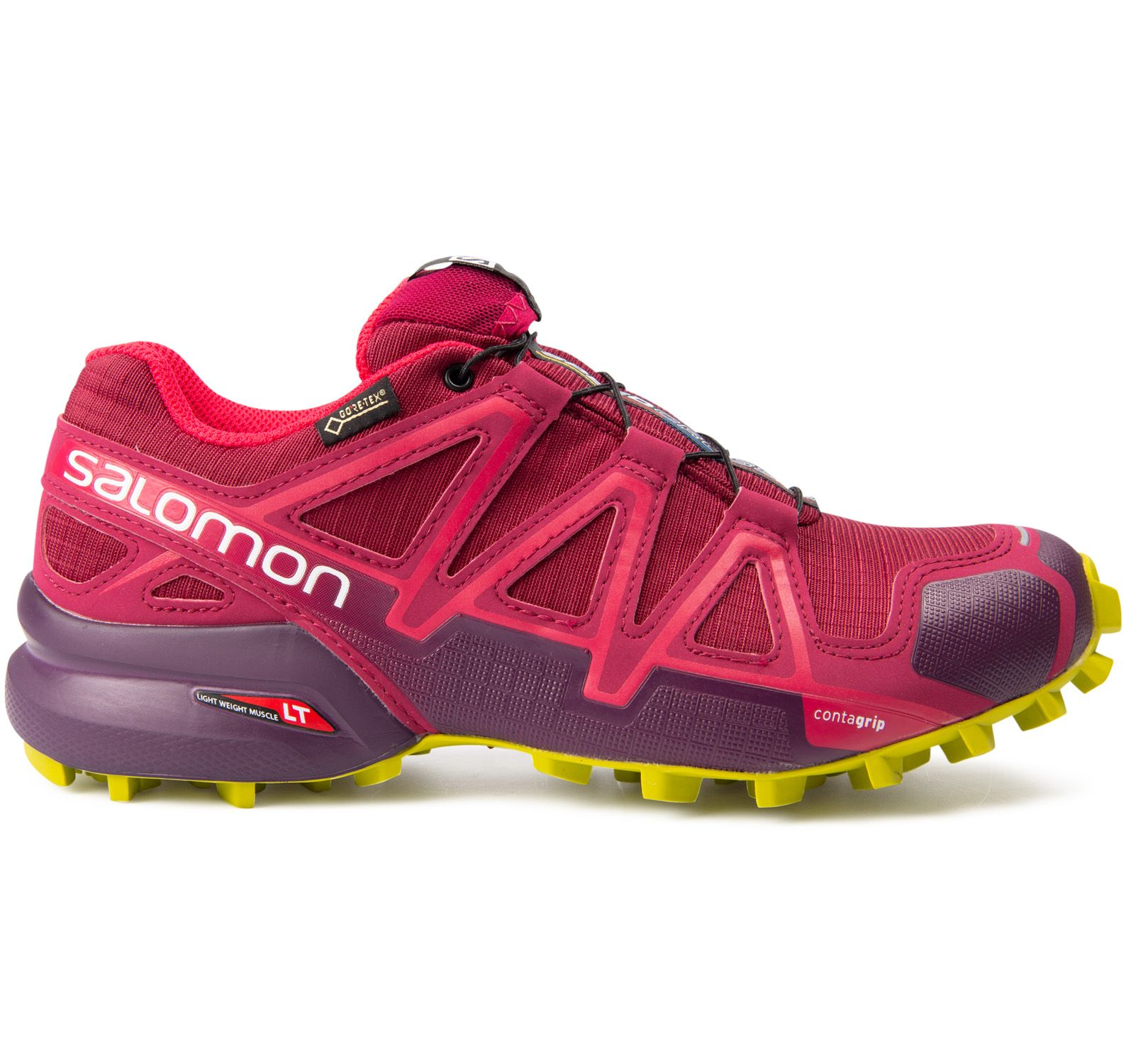 speedcross 4 gtx® w, beetred/potentpurple/citronell, 38