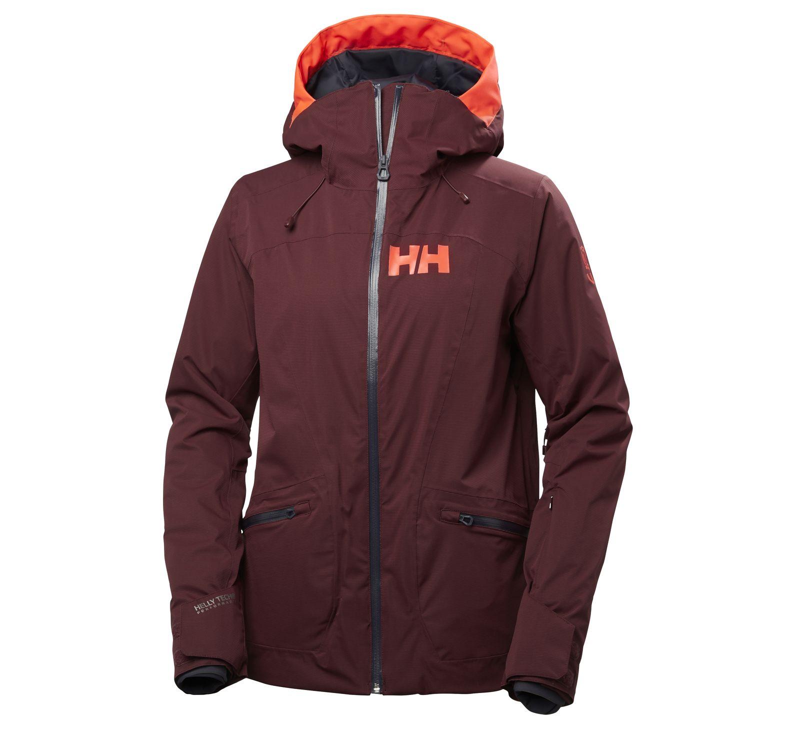 w glory jacket, port, l,  helly hansen jackor