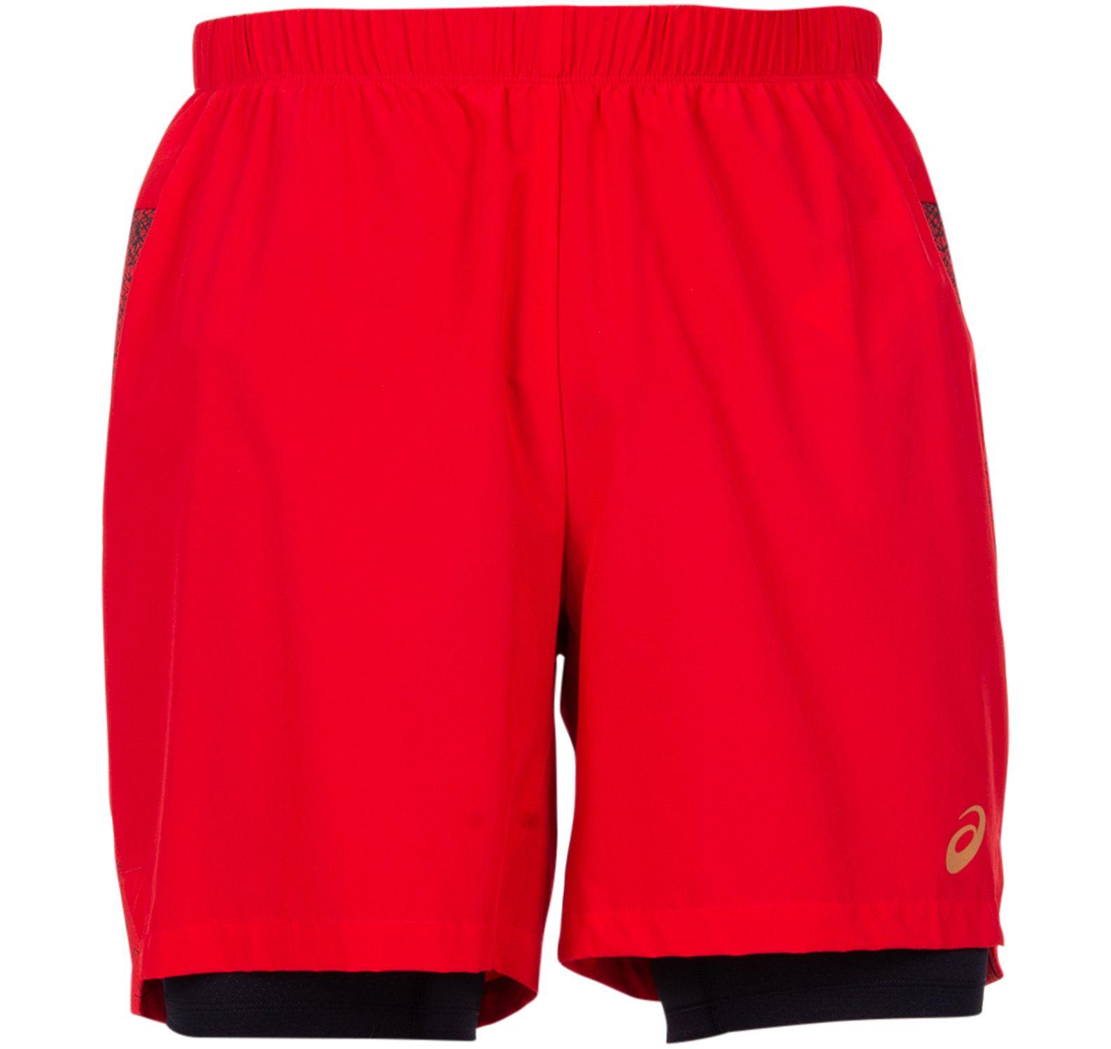 2-n-1 7in short, mp classic red, s,  kläder