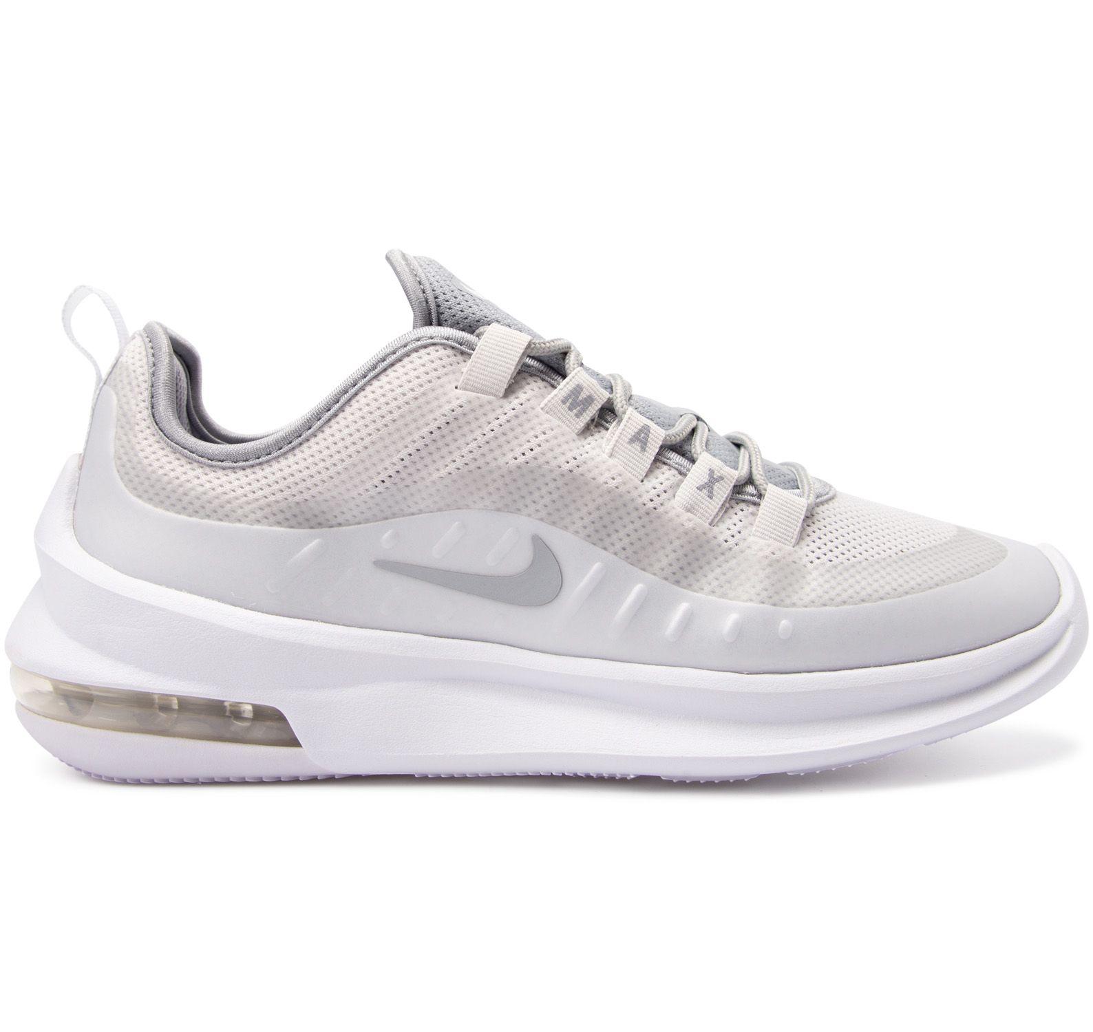 nike air max axis women's shoe, platinum tintwolf grey