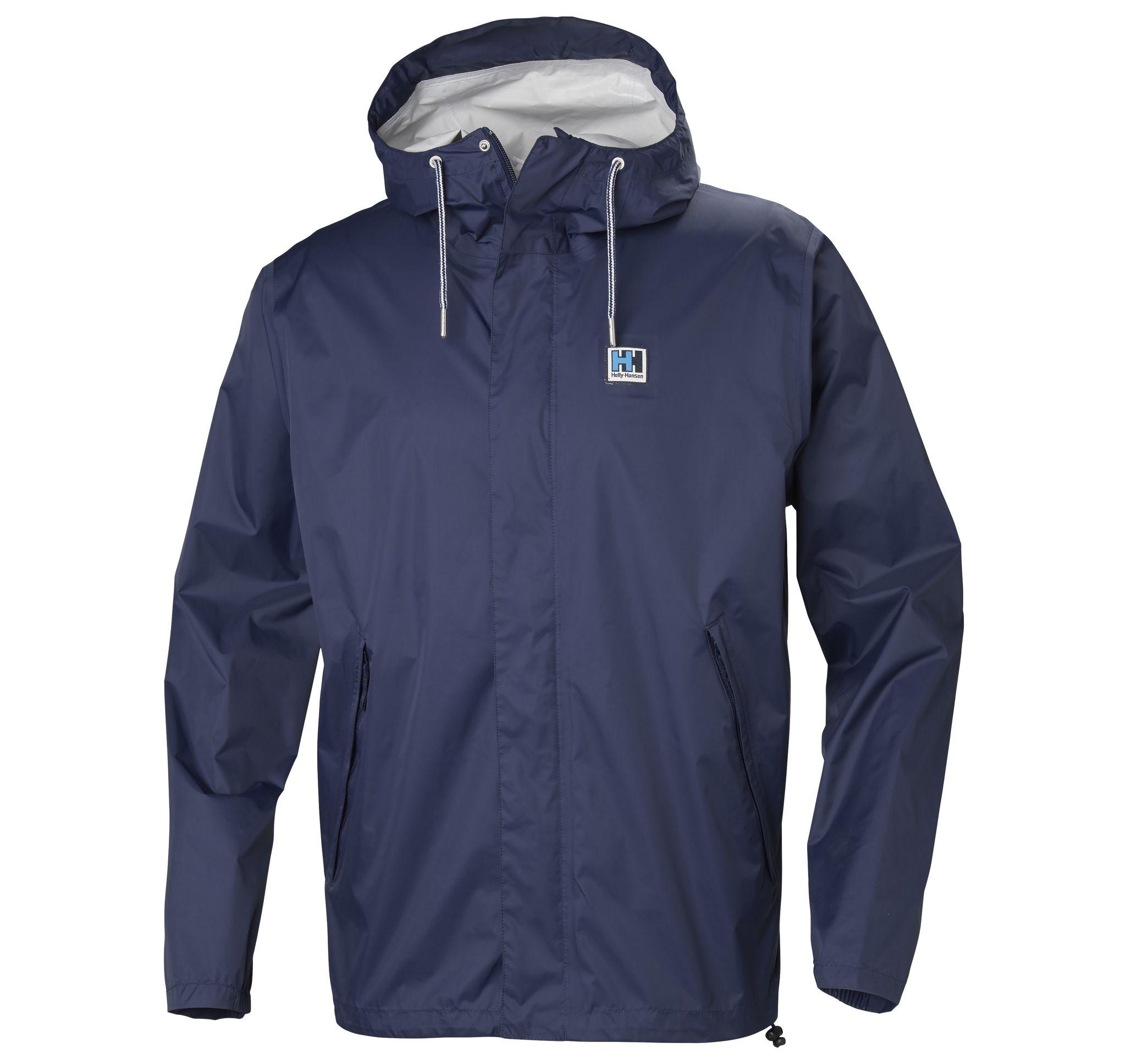 hh mountain jacket, 689 evening blue, l, regnjackor