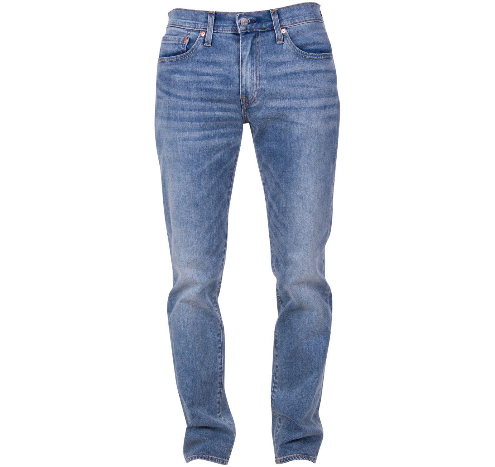 511 slim fit aegean adapt, med indigo - worn in, 33/32,  levi's jeans