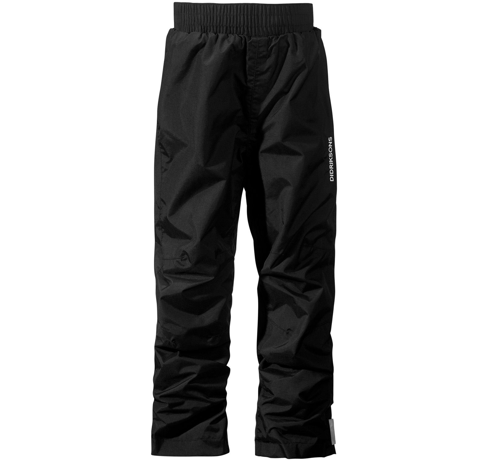 nobi kids pants 3, black, 120, didriksons regnkläder