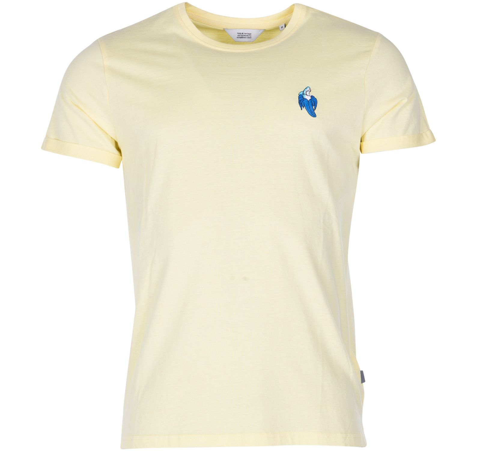 t-shirt - brenden, chardonnay, s, solid