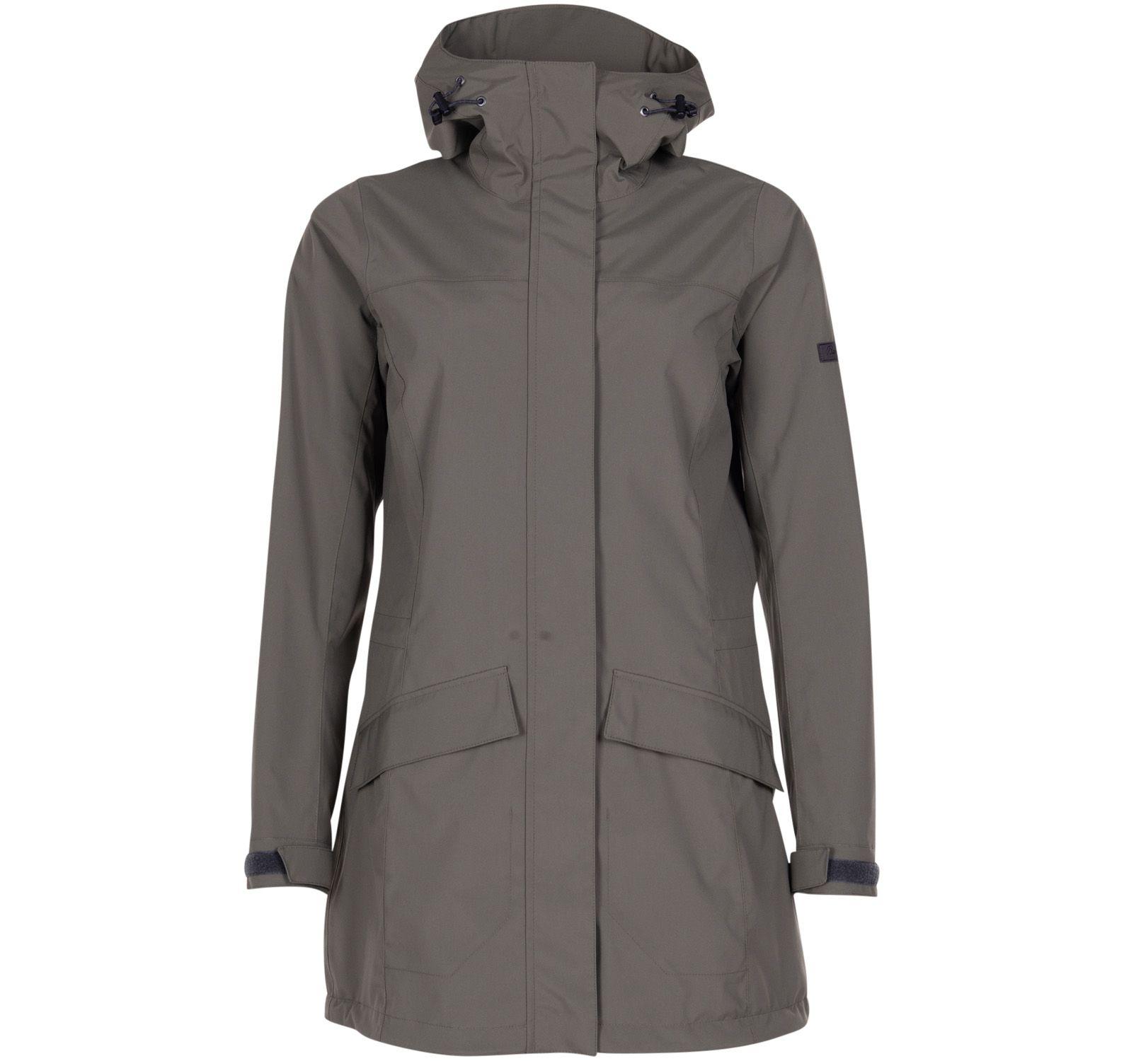 oslo 2l w coat, greenmud, s,  bergans