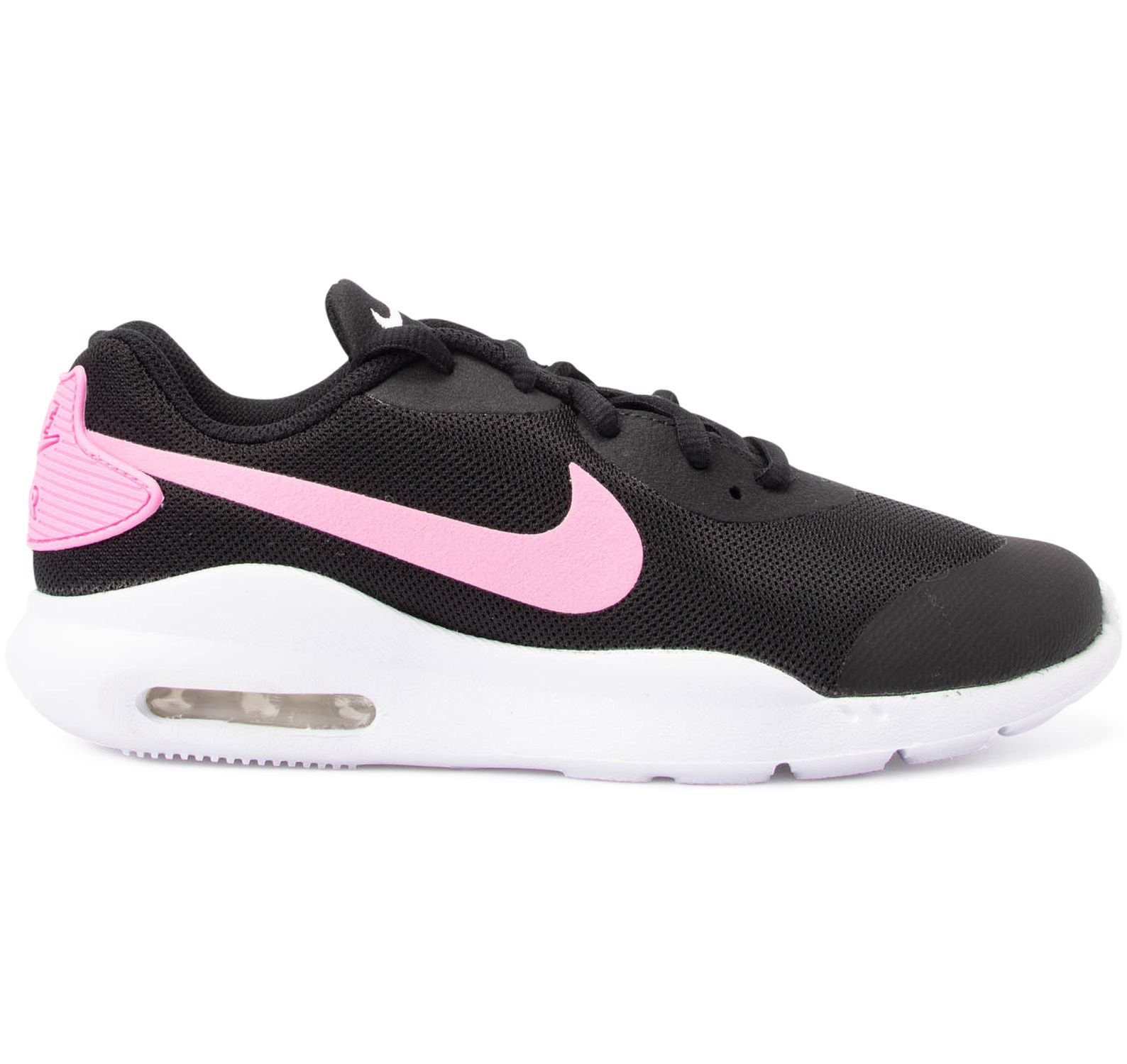 nike air max raito big kids' s, blackpsychic pink white
