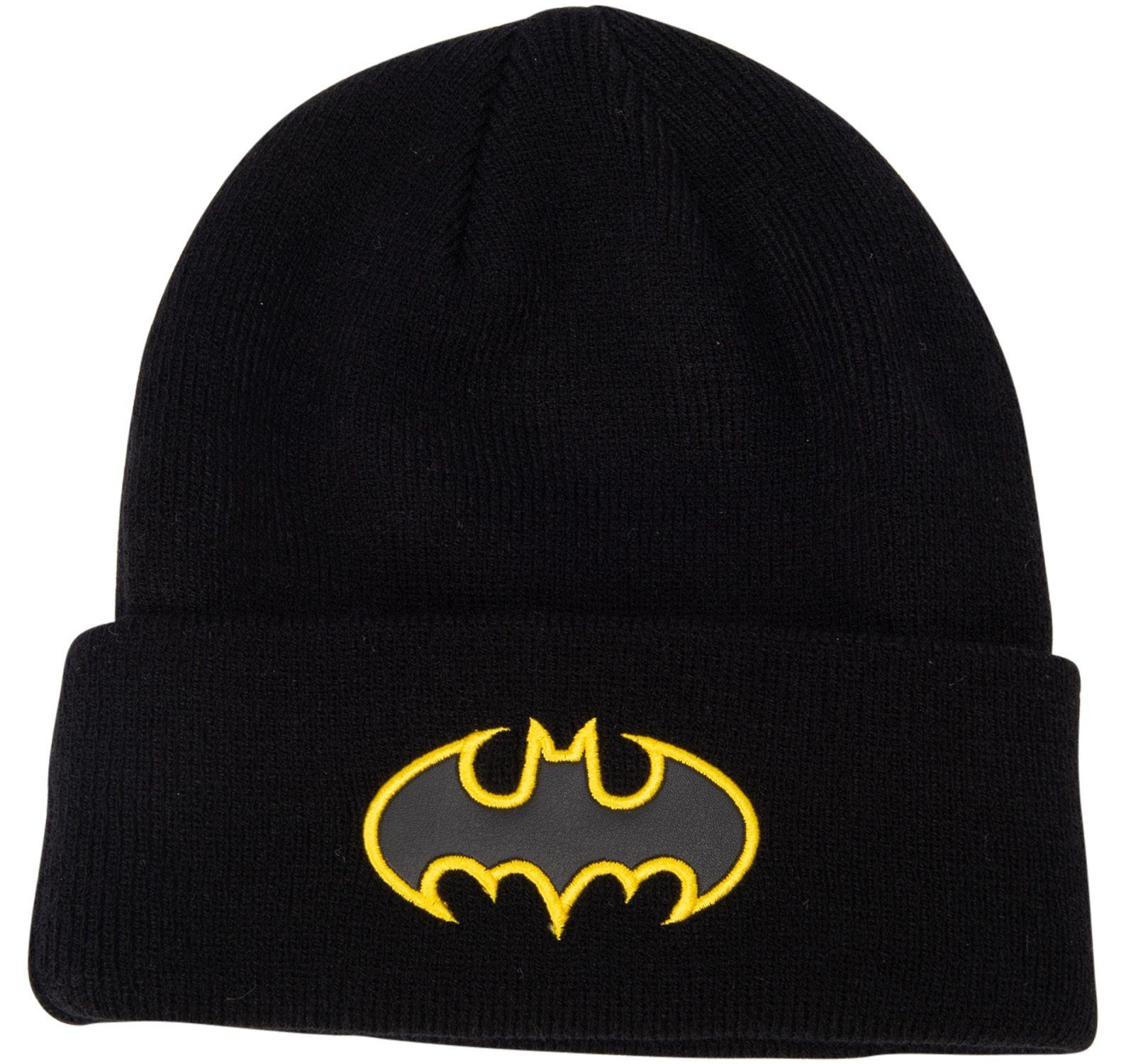 Justice league beanie, PUMA BLACK-BATMAN, ONESIZE YOUTH