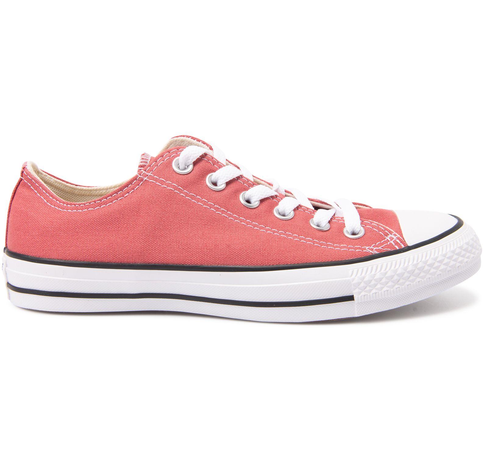 Köp Converse Chuck Taylor All Star Ox Canvas Maroon rosa