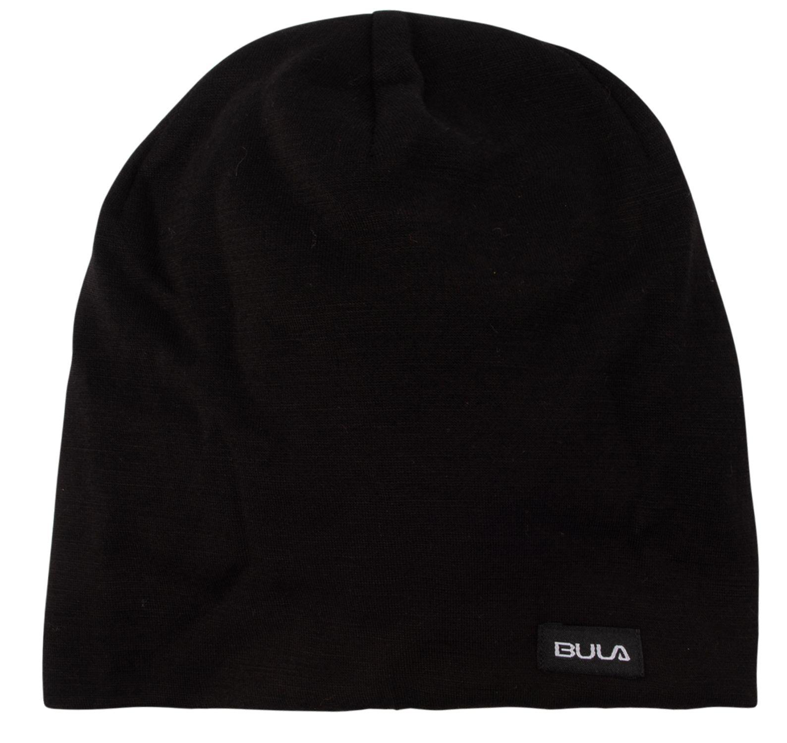 Camo Printed Wool Beanie, Black, Onesize,  Bula