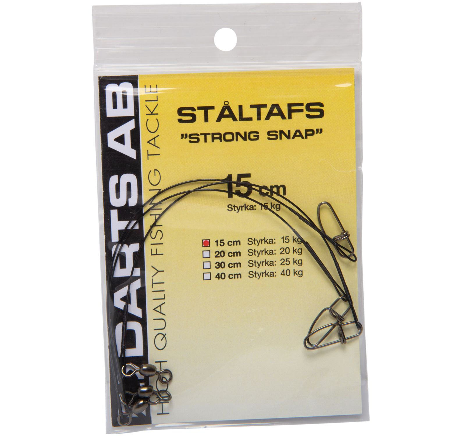 tafs strong snap/sp, no colour, onesize,  fiske