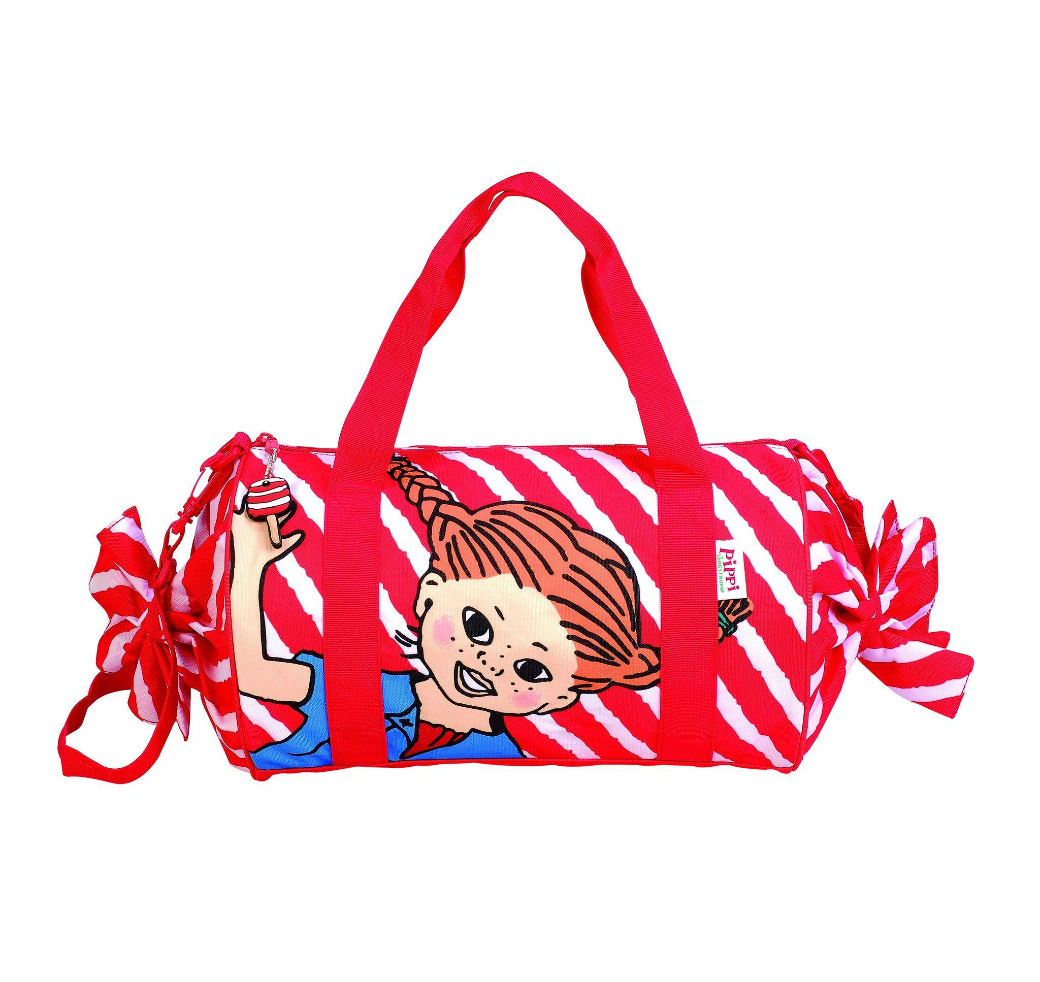 pippi duffelbag mini, red, no size, pippi
