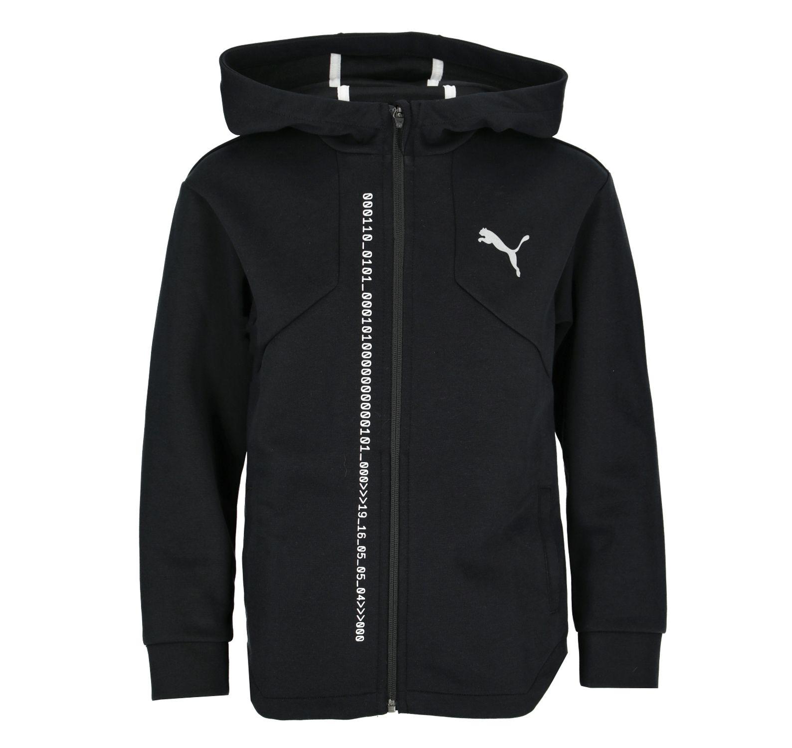 Energy Hooded Jacket B, Puma Black, 164,  Puma