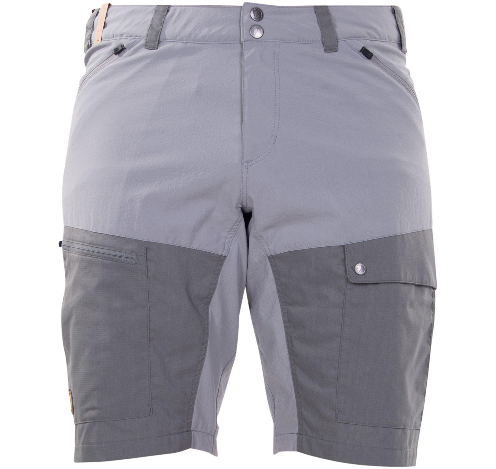 abisko midsummer shorts m, shark grey-super grey, 46,  byxor och shorts