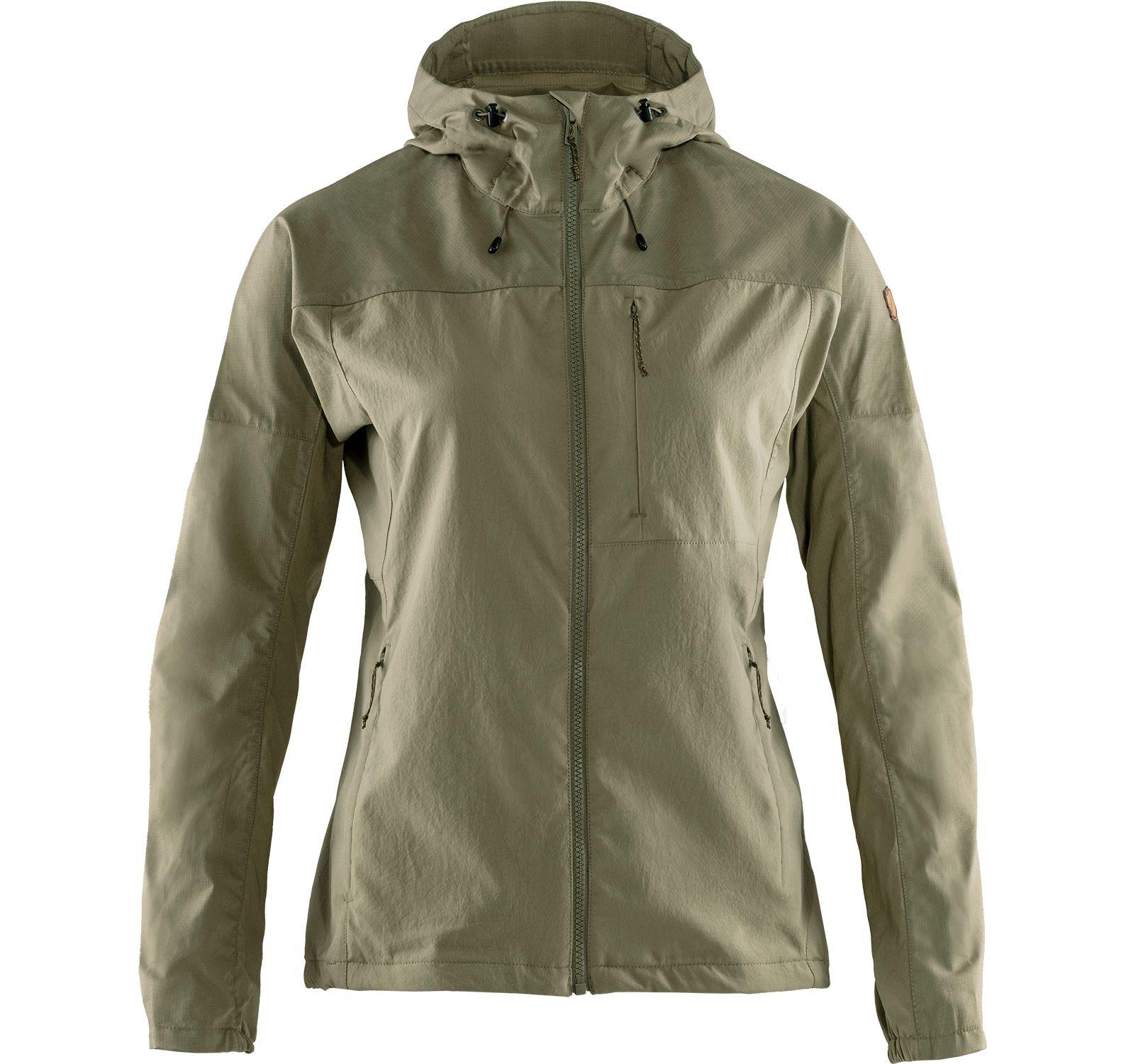 abisko midsummer jacket w, savanna-light olive, l,  jackor