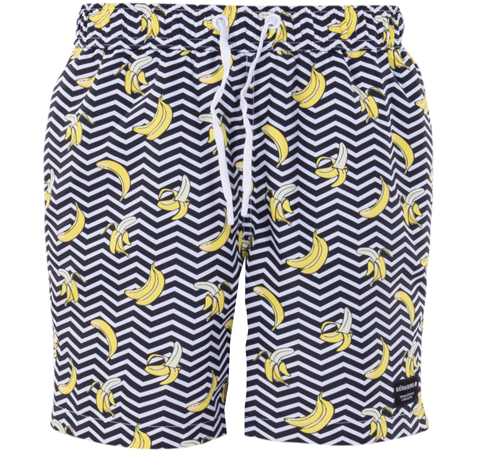 loose shorts kenny kenny, bb banana stripe black beauty, 134-140, björn borg