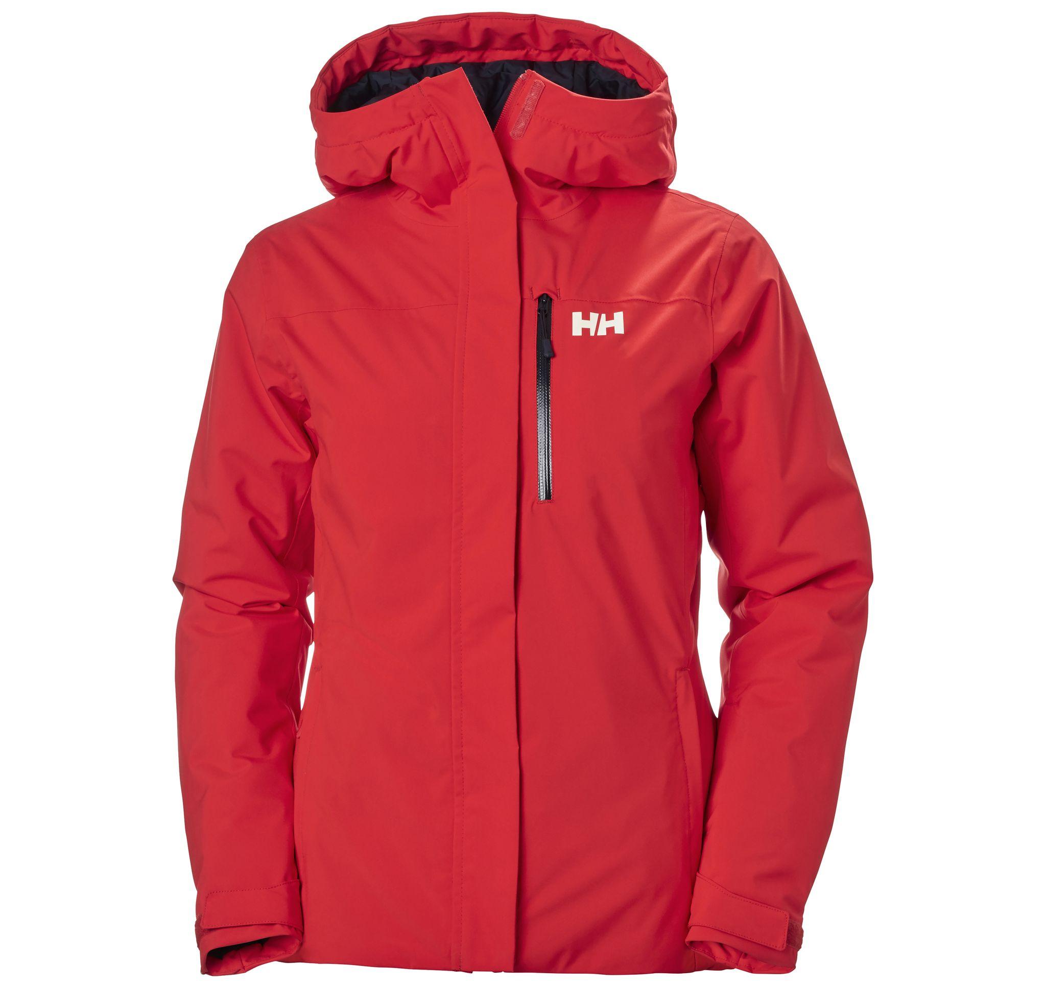 W Snowplay Jacket, Alert Red, L,  Helly Hansen Jackor