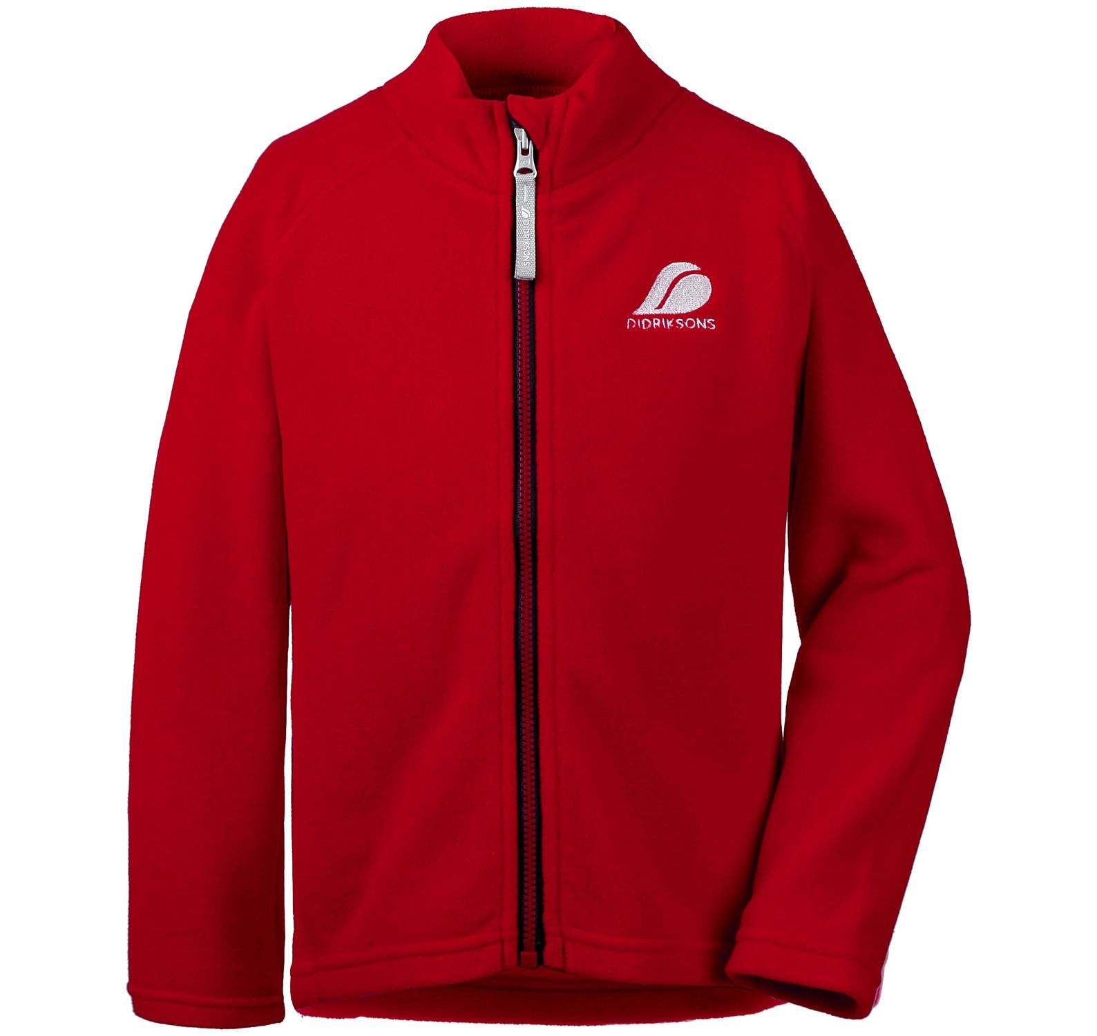 Monte Kid's Microfleece Jacket, Chili Red, 110,  Didriksons Vinter Rea