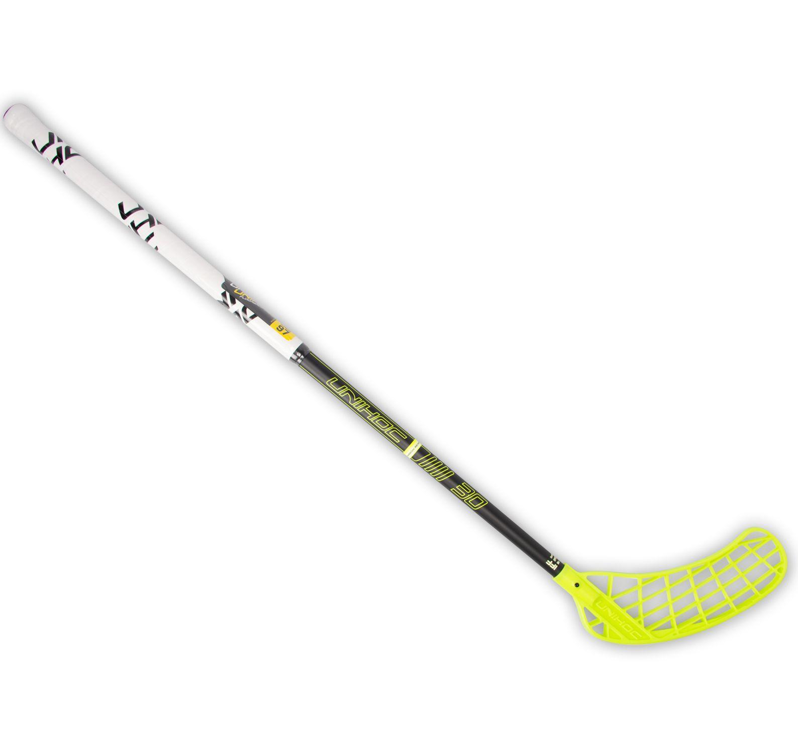 stick player, 92cm, 80cm left, utrustning