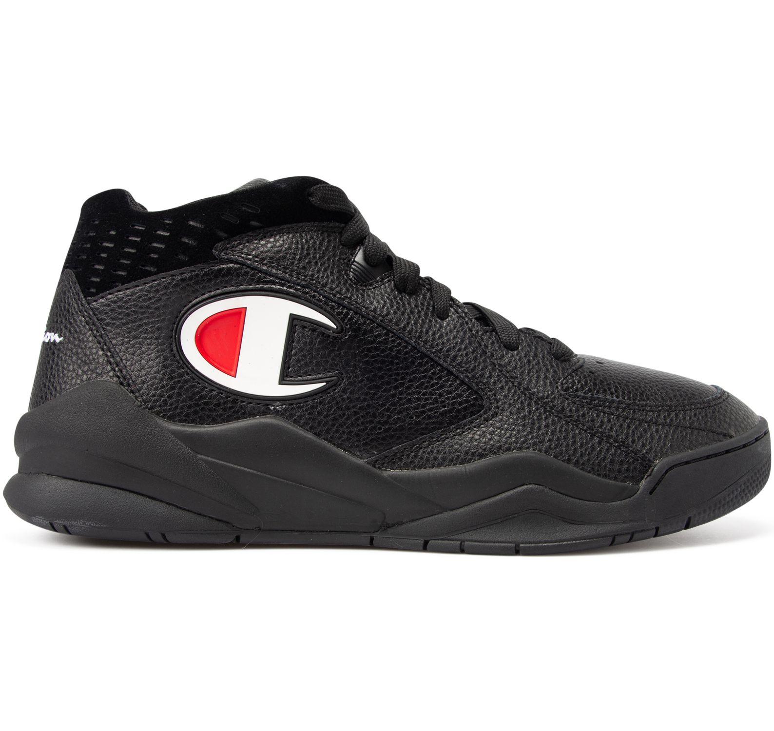 mid cut shoe zone mid, black beauty, 41,  skor