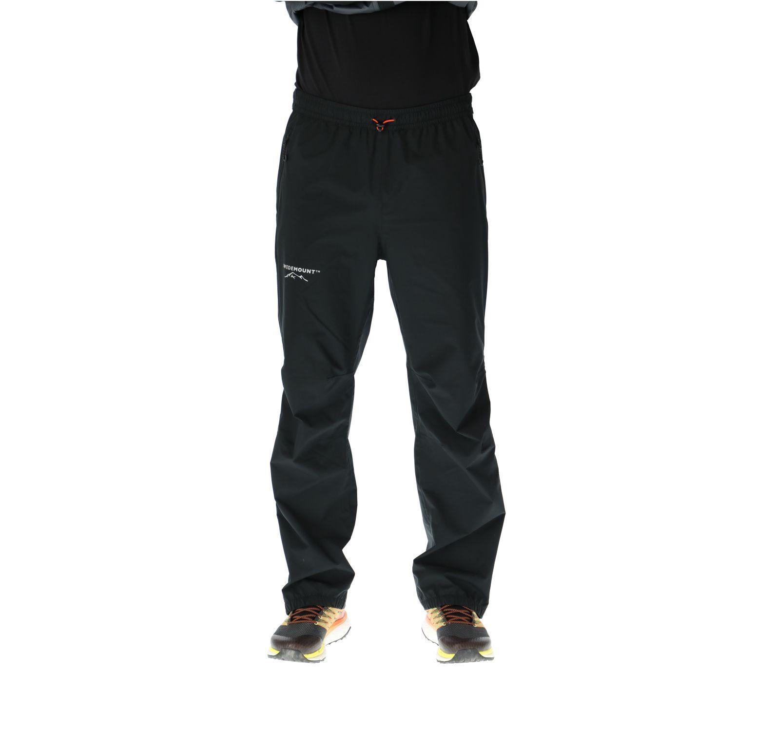 Multi Layer Stretch Rain Pants, Black, L,  Swedemount