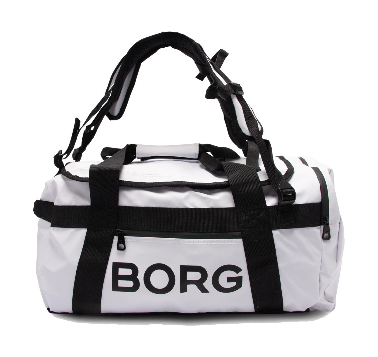 Borg Duffel Bag 35l, White, Onesize,  Björn Borg